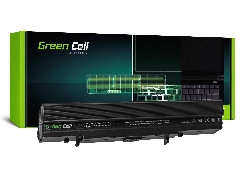 Green Cell AS48 Baterie Asus A42-V6/Asus Lamborghini V6/V6V/V6000/VX1 4400mAh Li-ion - neoriginální