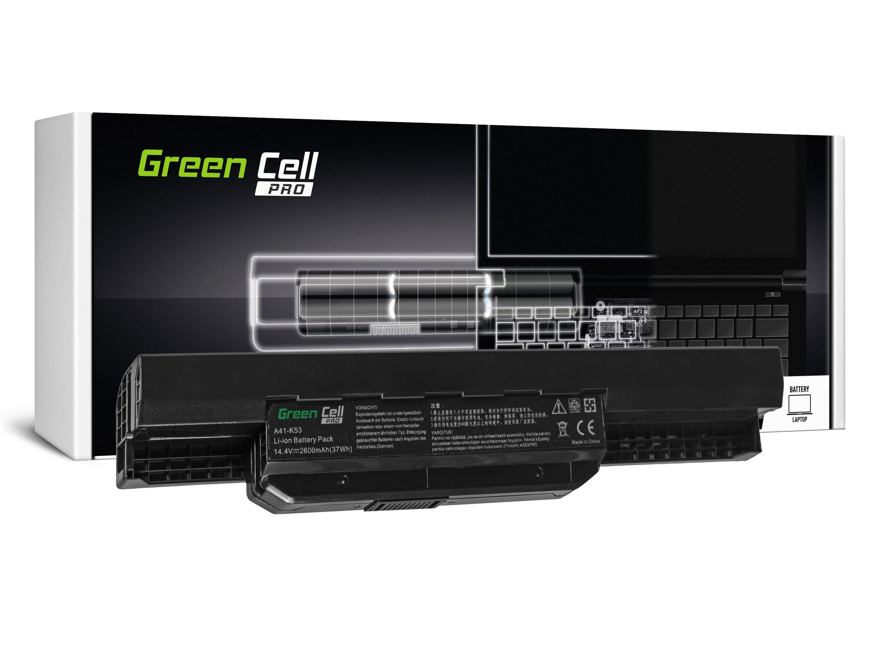 Green Cell AS53PRO Baterie Asus K53/K53E/K53S/K53SV/X53/X53S/X53U/X54/X54C/X54H 2600mAh Li-ion - neoriginální
