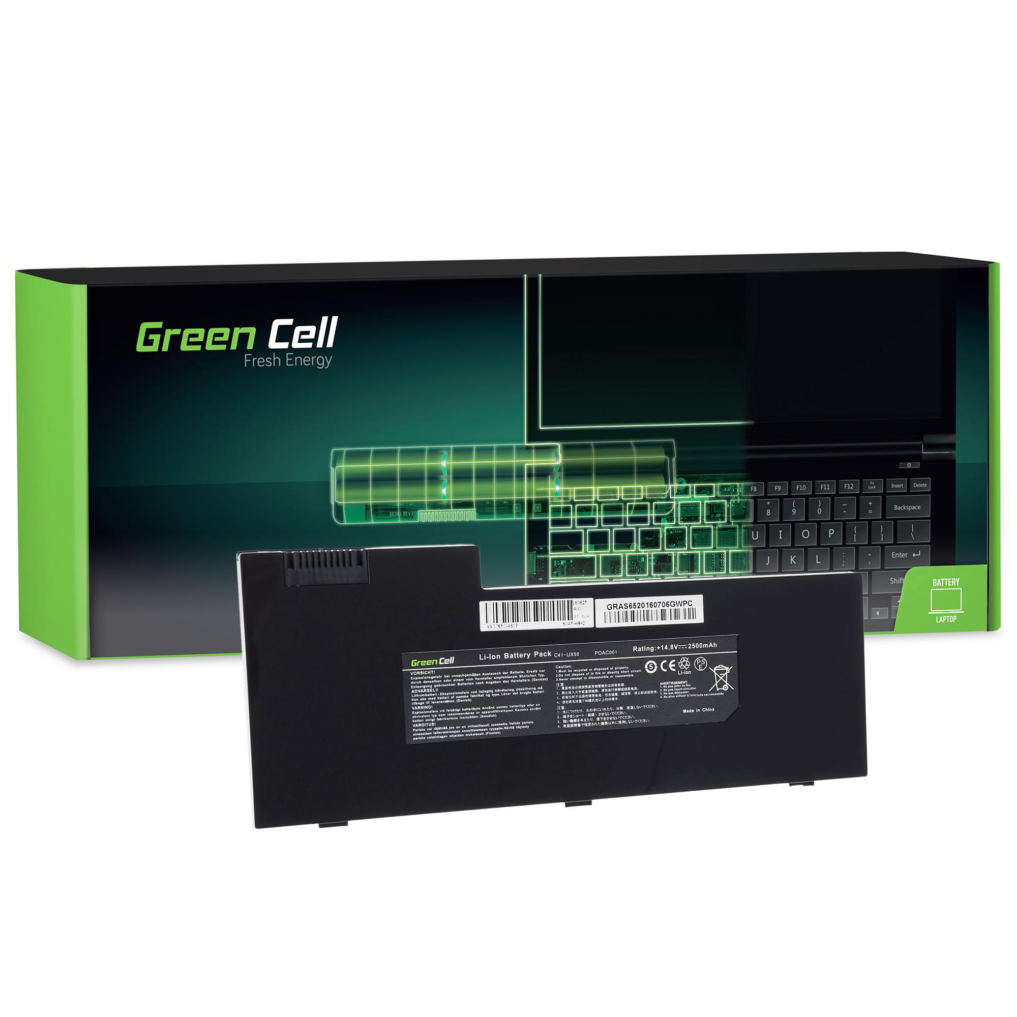Green Cell AS65 Baterie Asus UX50/UX50V/C41-UX50 2600mAh Li-ion - neoriginální