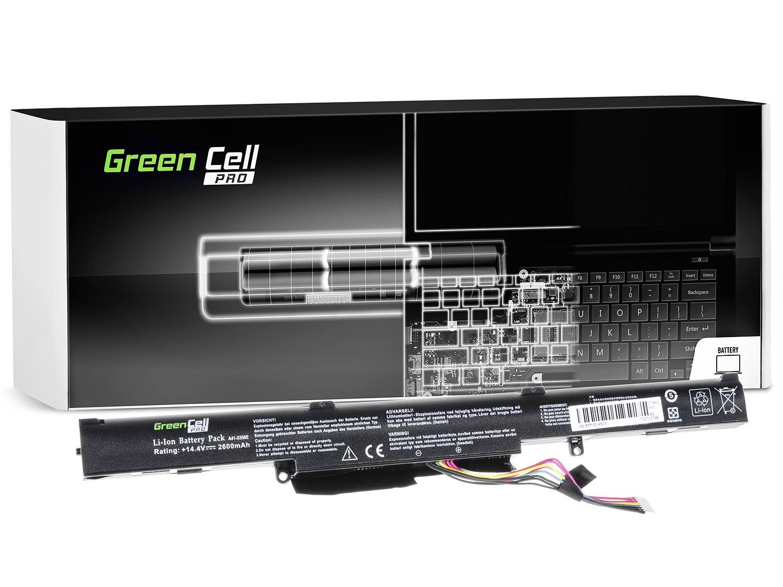 Green Cell AS77PRO Baterie Asus F550D/R510D/R510DP/X550D/X550DP/A41-X550E 2600mAh Li-ion - neoriginální