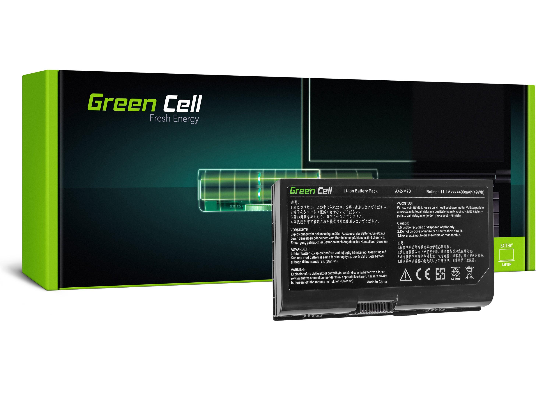Green Cell AS78 Baterie Asus F70/G71/G72/M70/N70/N90/Pro70/X71/X72/X90 4400mAh Li-ion - neoriginální