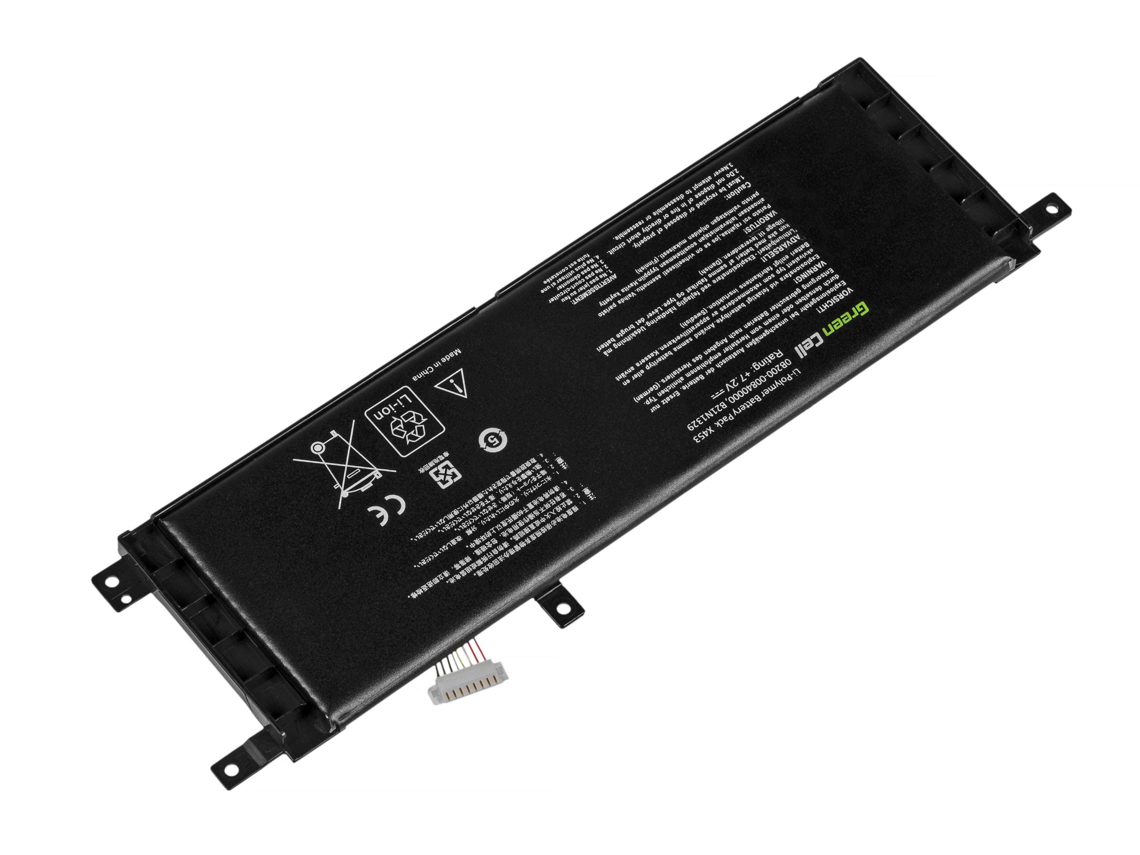 Green Cell AS80 Baterie Asus X553 X553M X553MA F553 F553M F553MA 3800mAh Li-Pol – neoriginální