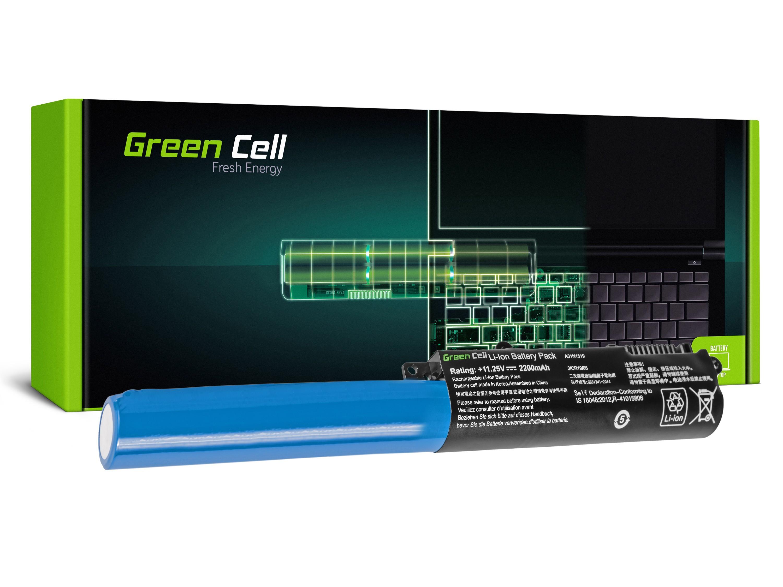 Green Cell AS86 Baterie Asus F540/F540L/F540S/R540/R540L/R540S/X540/X540L/X540S 2200mAh Li-ion - neoriginální