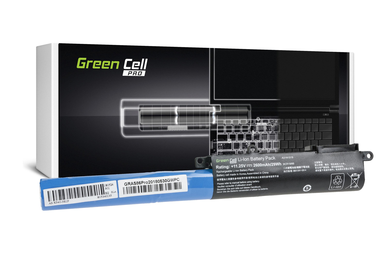 Green Cell AS86PRO Baterie Asus F540/F540L/F540S/R540/R540L/R540S/X540/X540L/X540S 2600mAh Li-ion - neoriginální