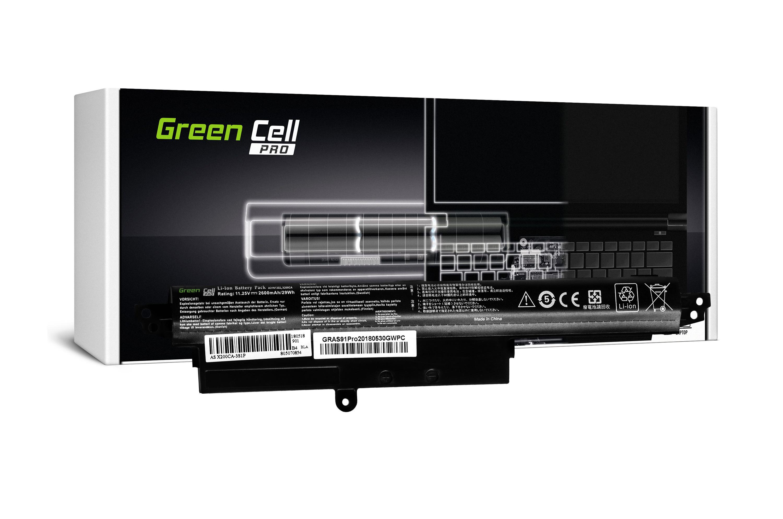 Green Cell AS91PRO Baterie Asus X200/X200C/X200L/X200M/K200MA VivoBook F200/F200C 2600mAh Li-ion - neoriginální