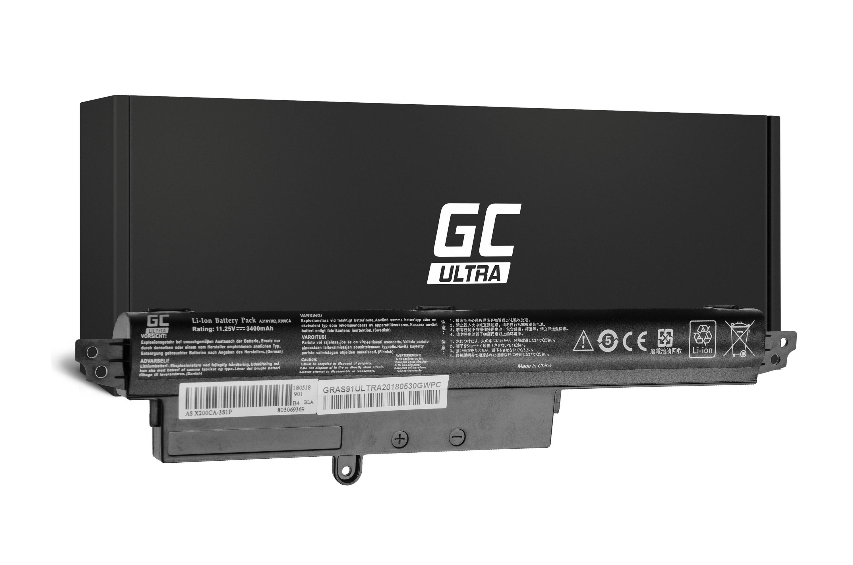 Green Cell AS91ULTRA Baterie Asus X200/X200C/X200L/X200M/K200MA VivoBook F200/F200C 3400mAh Li-ion - neoriginální
