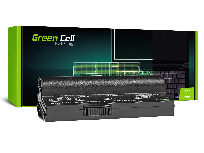 Green Cell AS92 Baterie Asus Eee PC 700 701 900 2G 4G 8G 12G 20G 6600mAh Li-ion - neoriginální