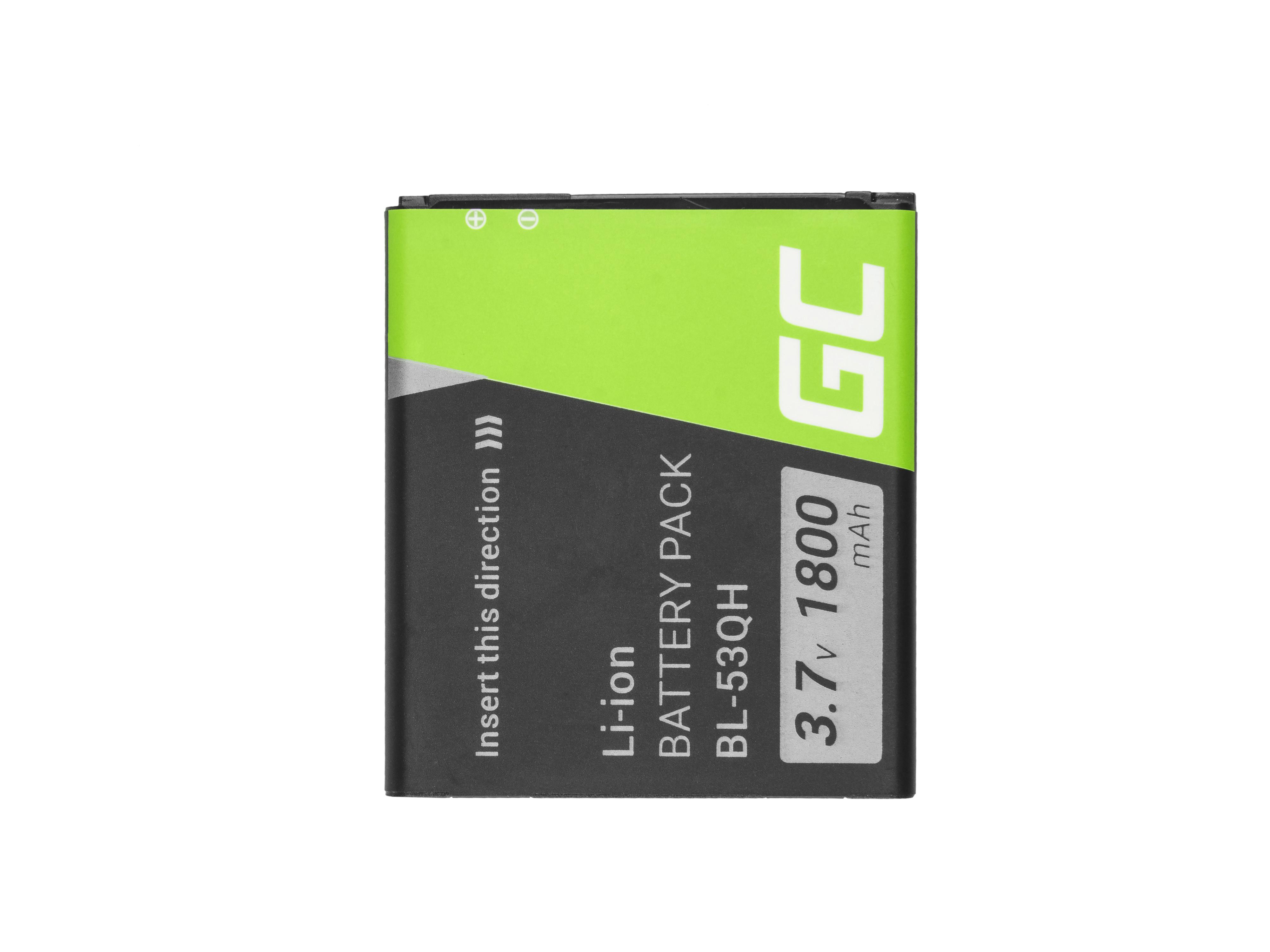 Baterie Green Cell LG L9 P760 P769 P880 P880G 4X HD 1500mAh Li-ion - neoriginální