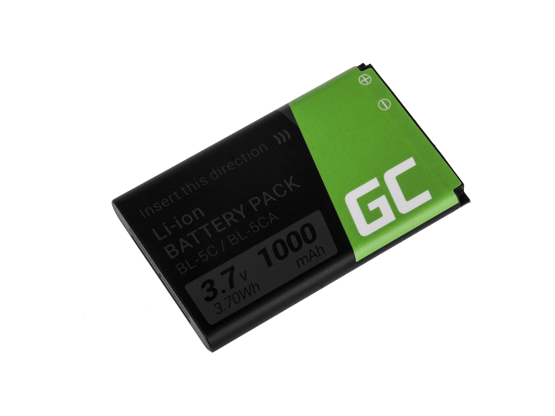 Green Cell Phone Baterie BP-5C pro Nokia 1200 1800 2600 3610 6600 E50 N91