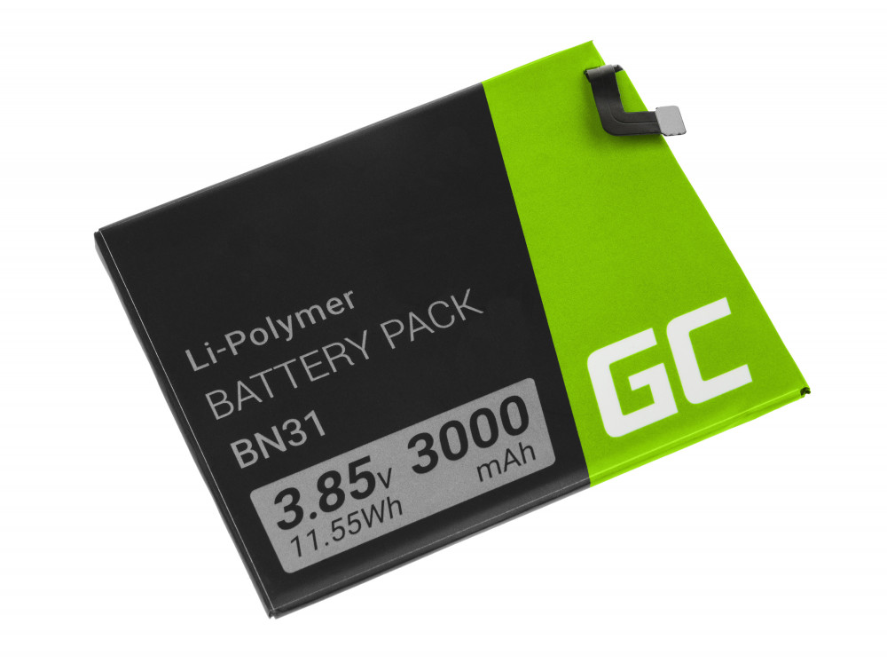 Green Cell akkumulátor BN31 Xiaomi Mi A1 5X /5A redmi S2 Y2