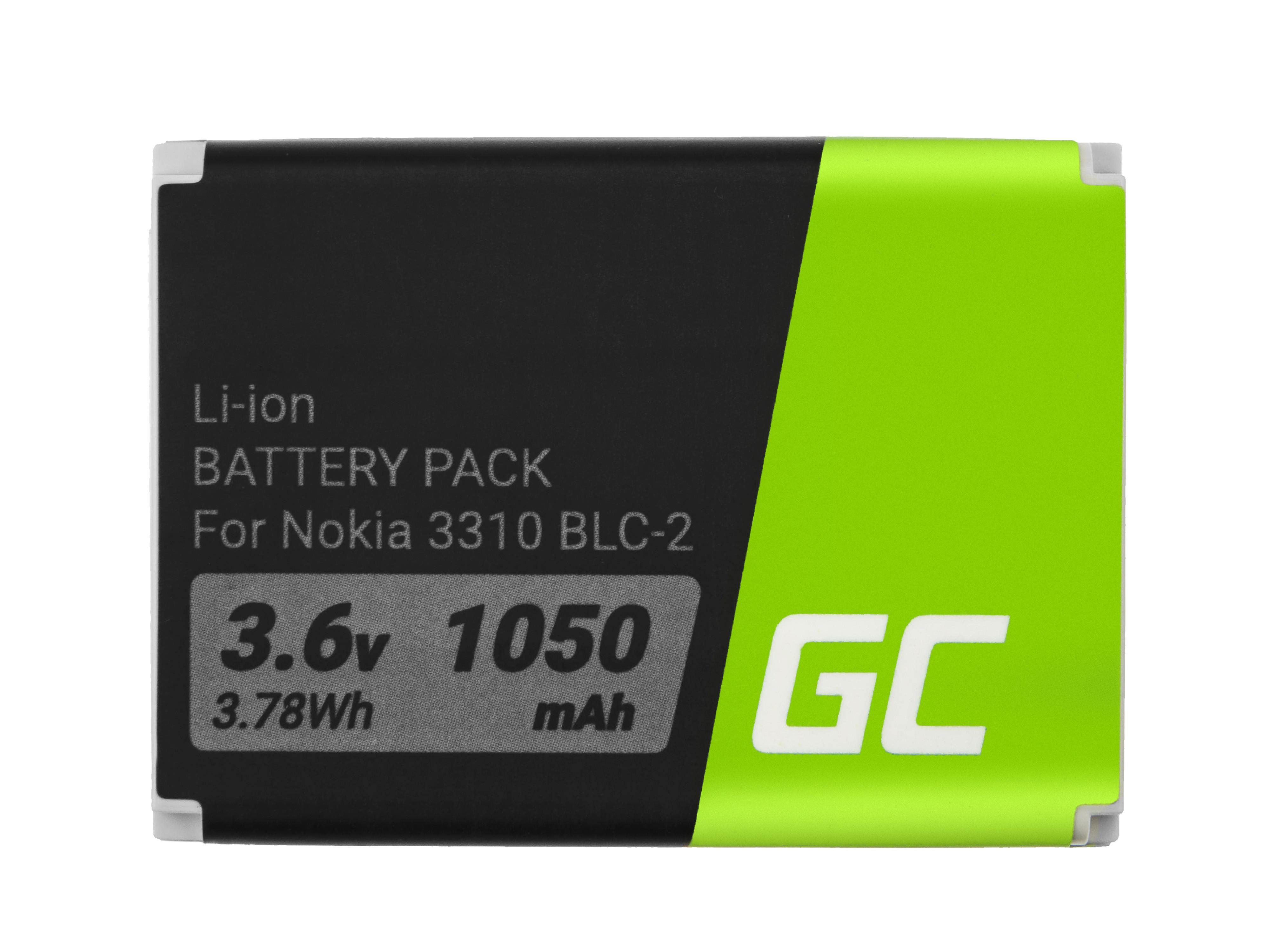 Baterie Green Cell Nokia BLC-2 1200mAh Li-ion - neoriginální