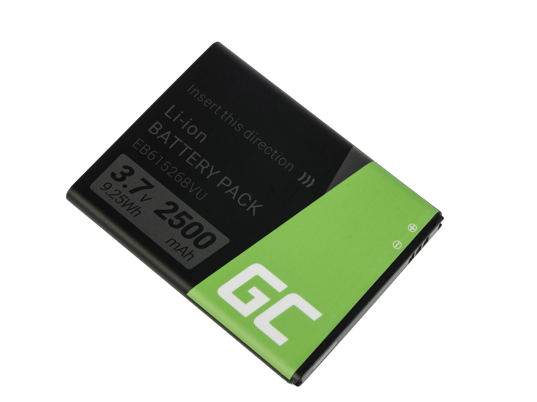 Baterie Green Cell Samsung EB615268VU SAMSUNG GALAXY NOTE N7000 i9220 2500mAh Li-ion - neoriginální