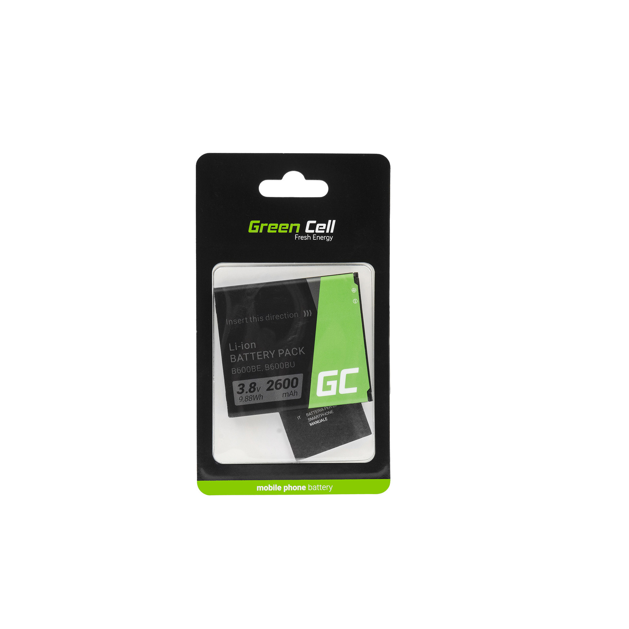 Green Cell Smartphone Baterie pro SAMSUNG S4 B600BE