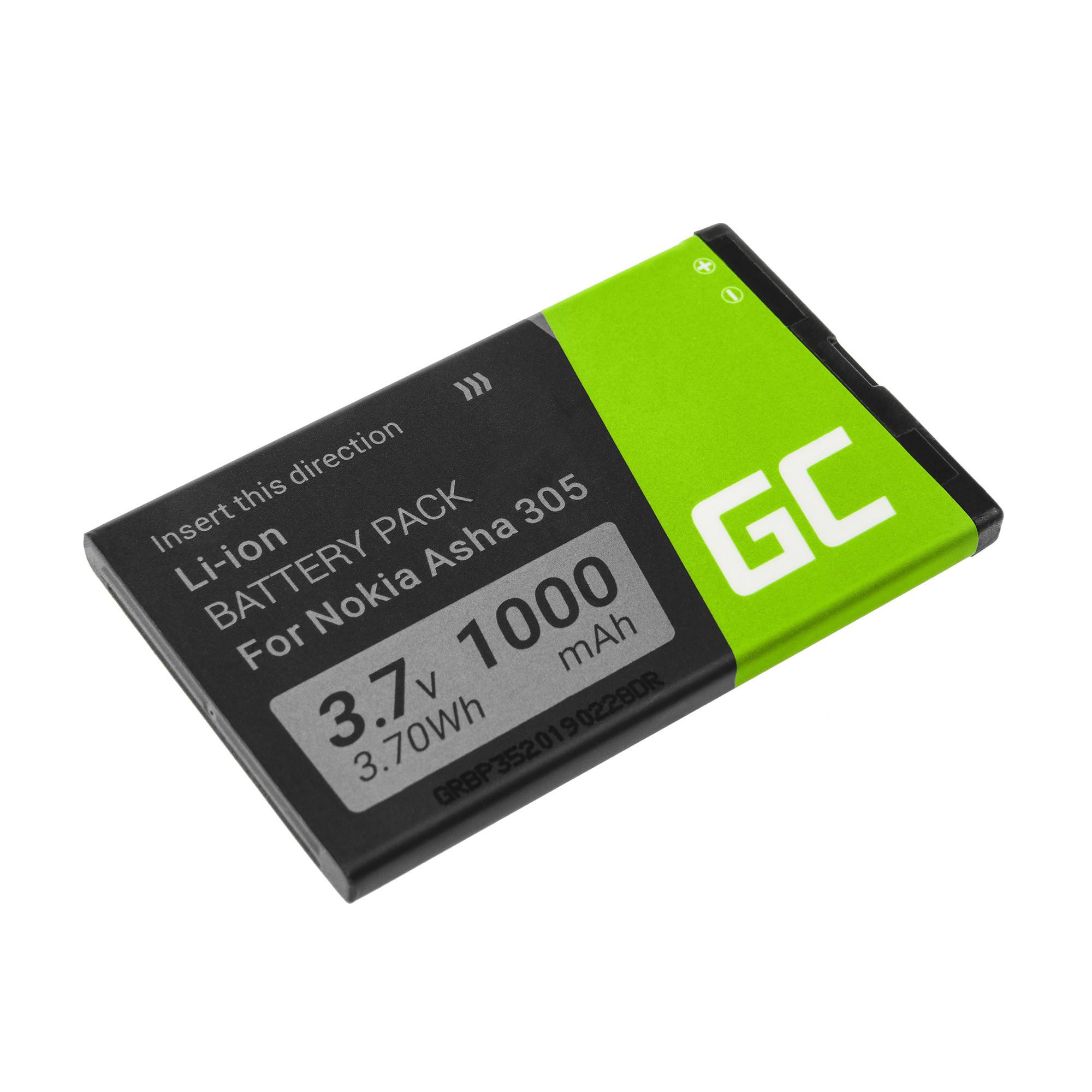 Baterie Green Cell Nokia BL-4U BL4U 1000mAh Li-ion - neoriginální