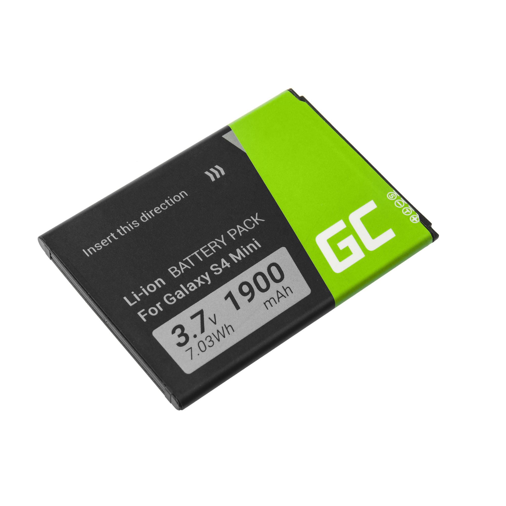 Baterie Green Cell Samsung B500BE Samsung Galaxy S4 Mini 1900mAh Li-ion - neoriginální
