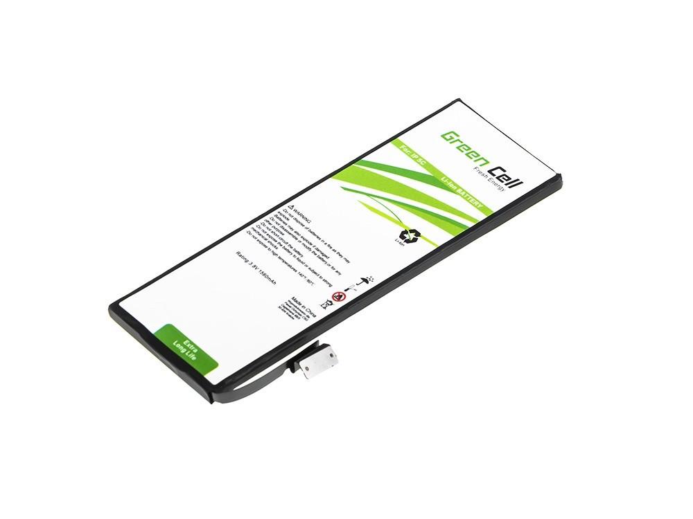 Baterie Green Cell Apple iPhone 5C 1560mAh Li-ion - neoriginální