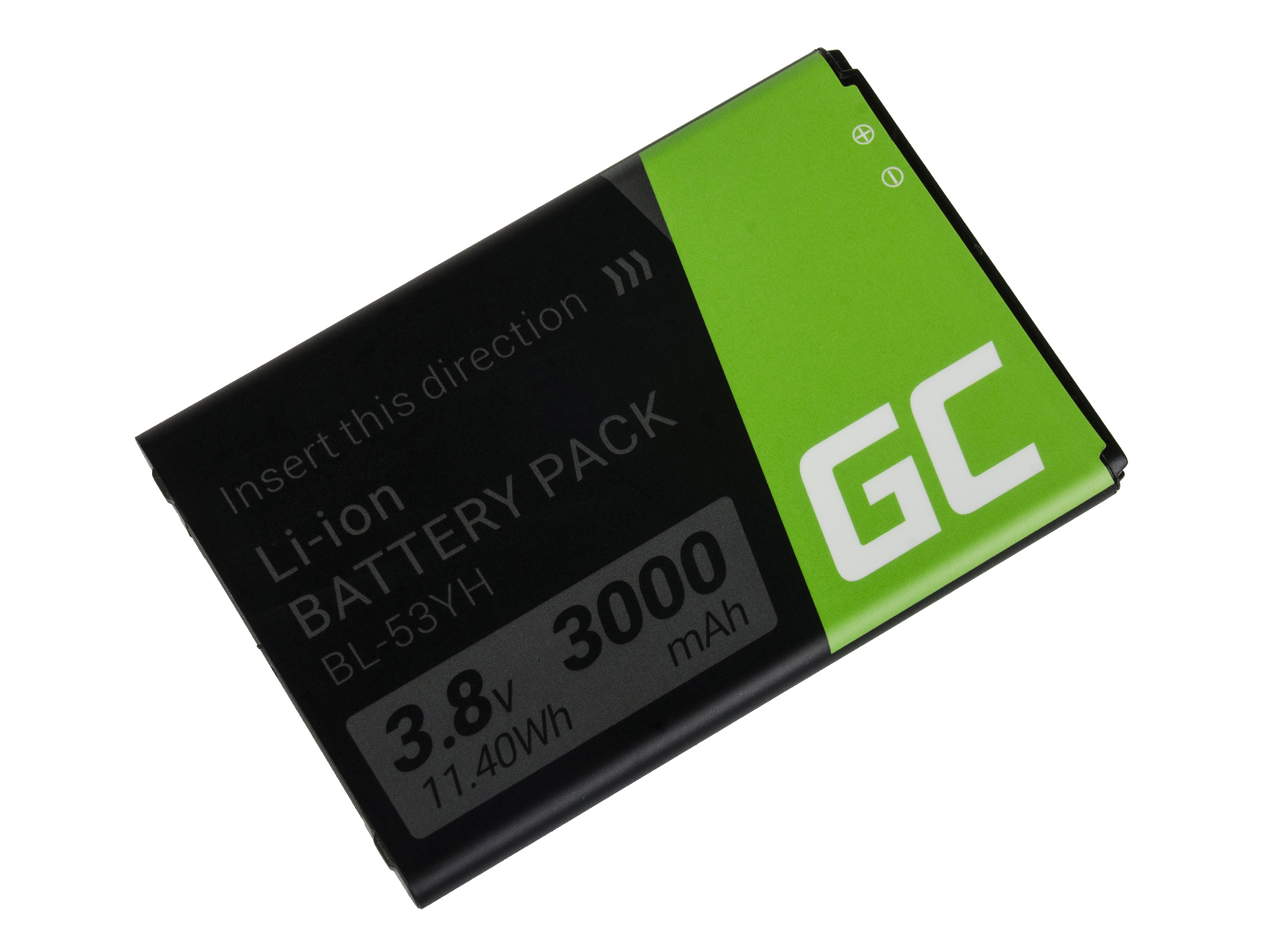 Green Cell Smartphone Baterie pro LG G3 BL-53YH