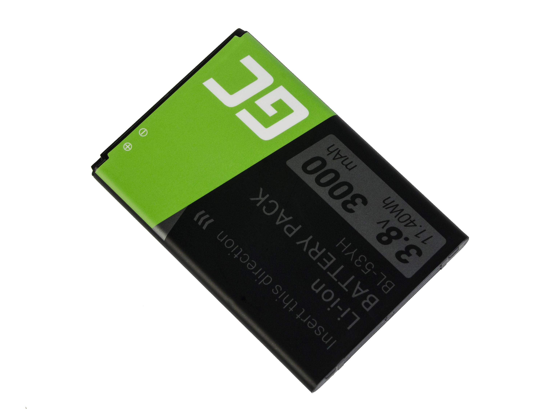 Baterie Green Cell LG BL-53YH LG G3 3000mAh Li-ion - neoriginální