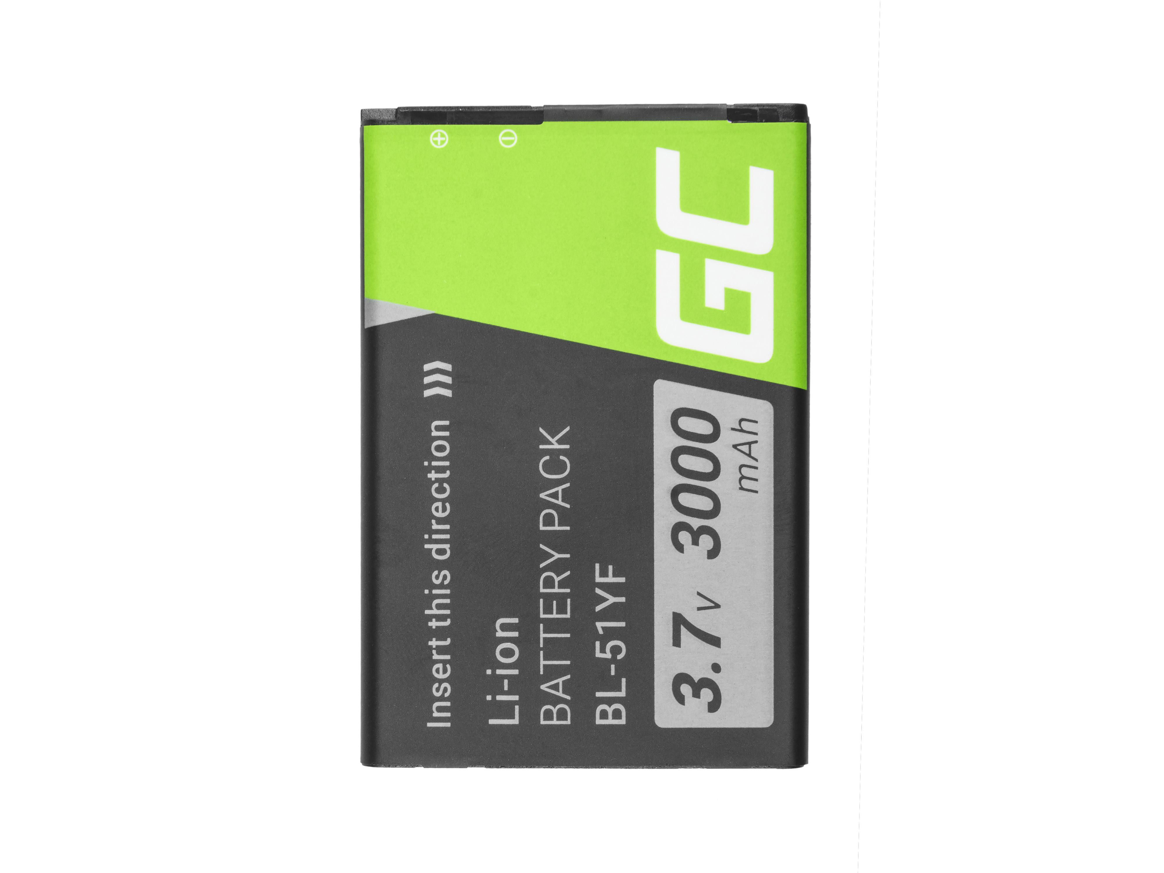Green Cell Smartphone Battery for LG G4 BL-51YF
