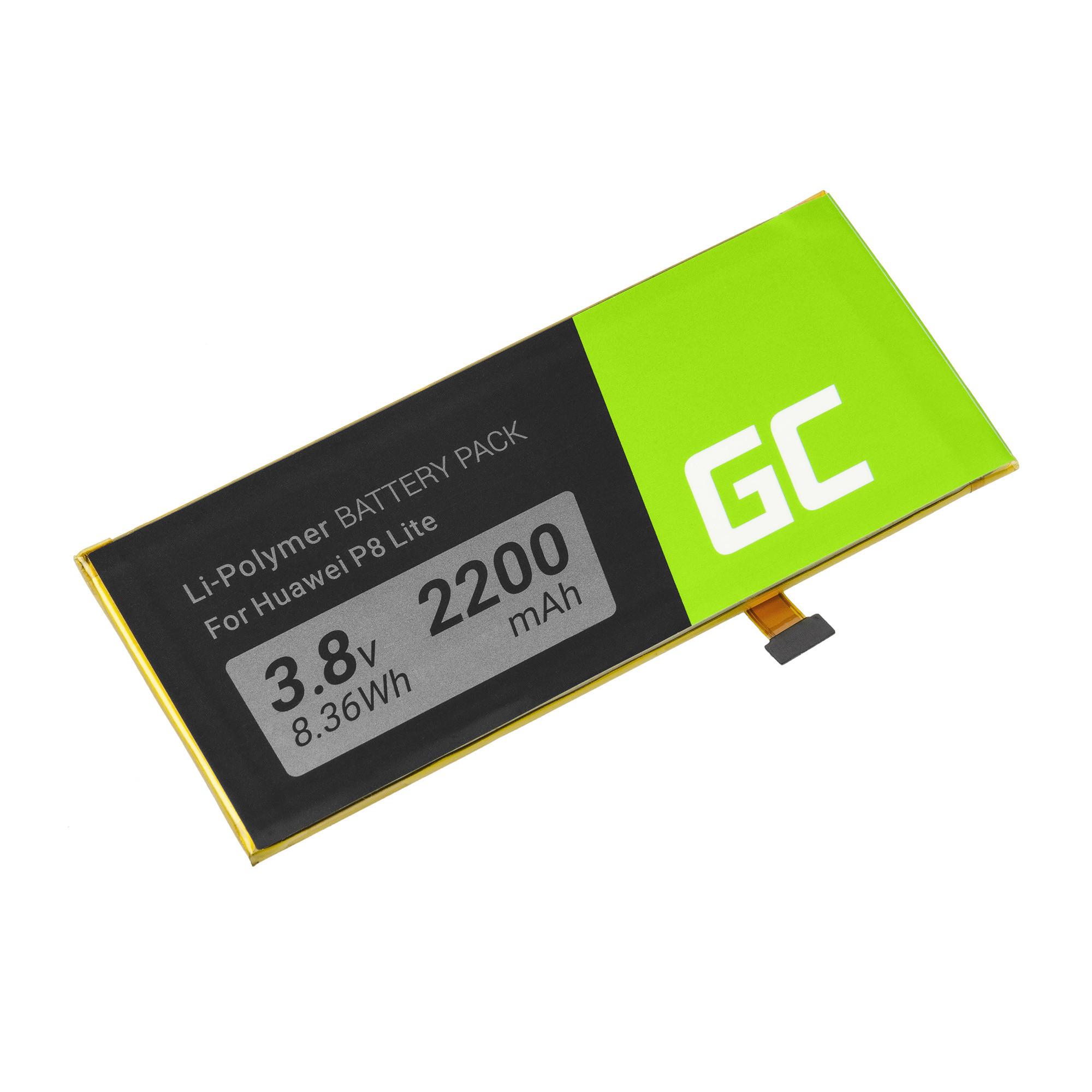 Baterie Green Cell Huawei P8 Lite 2200mAh Li-ion - neoriginální