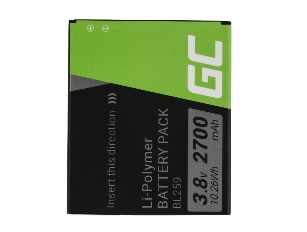 Green Cell akkumulátor BL259 Lenovo K3 K5 K5 Plus C2 Lemon 3