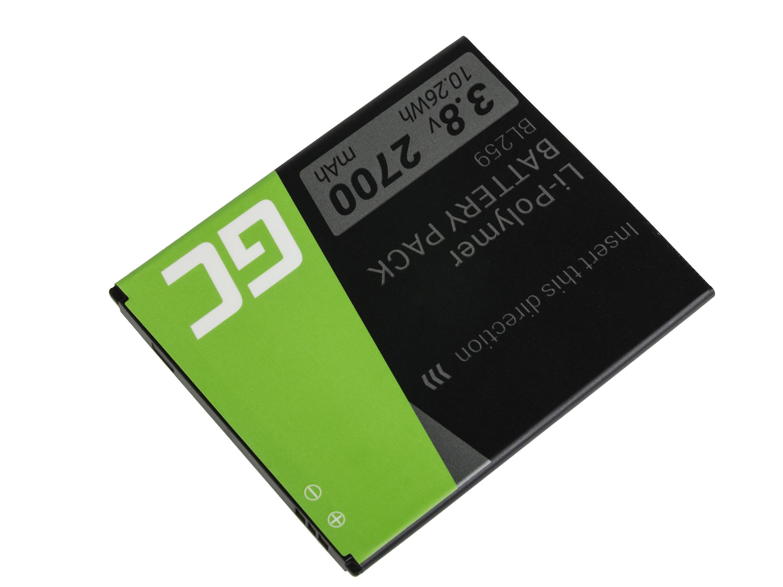 Green Cell BP69 Baterie Lenovo BL259 Lenovo K3 K5 K5 Plus C2 Lemon 3 3.8V 2700mAh Li-ion - neoriginální
