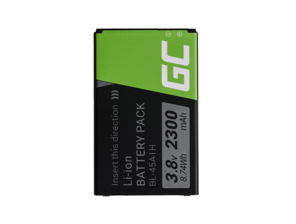 Green Cell akkumulátor BL-45A1H LG K10 K420n K430