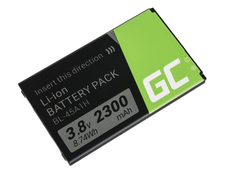 Green Cell BP71 Baterie do mobilu BL-45A1H LG K10 K420n K430 2300mAh Li-ion - neoriginální