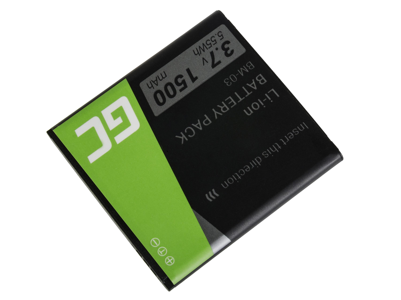 Green Cell BP73 Baterie do mobilu BM-03 myPhone C-Smart Funky 1500mAh Li-ion - neoriginální