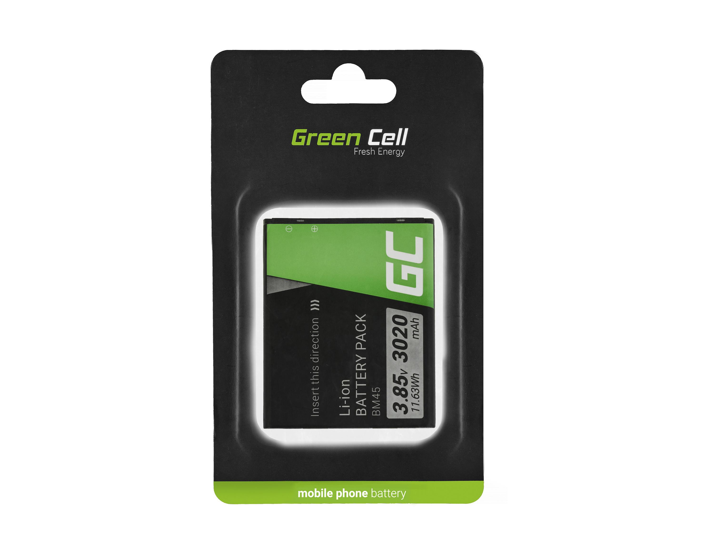 Green Cell BP75 Baterie do mobilu Xiaomi Redmi Note 2 Xiaomi BM45 3020mAh Li-ion - neoriginální