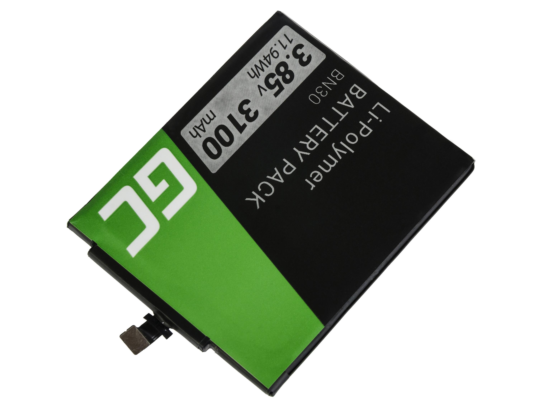 Green Cell BP76 Baterie do mobilu Xiaomi Mi 4A Redmi 4A Xiaomi BN30 3100mAh Li-Pol – neoriginální