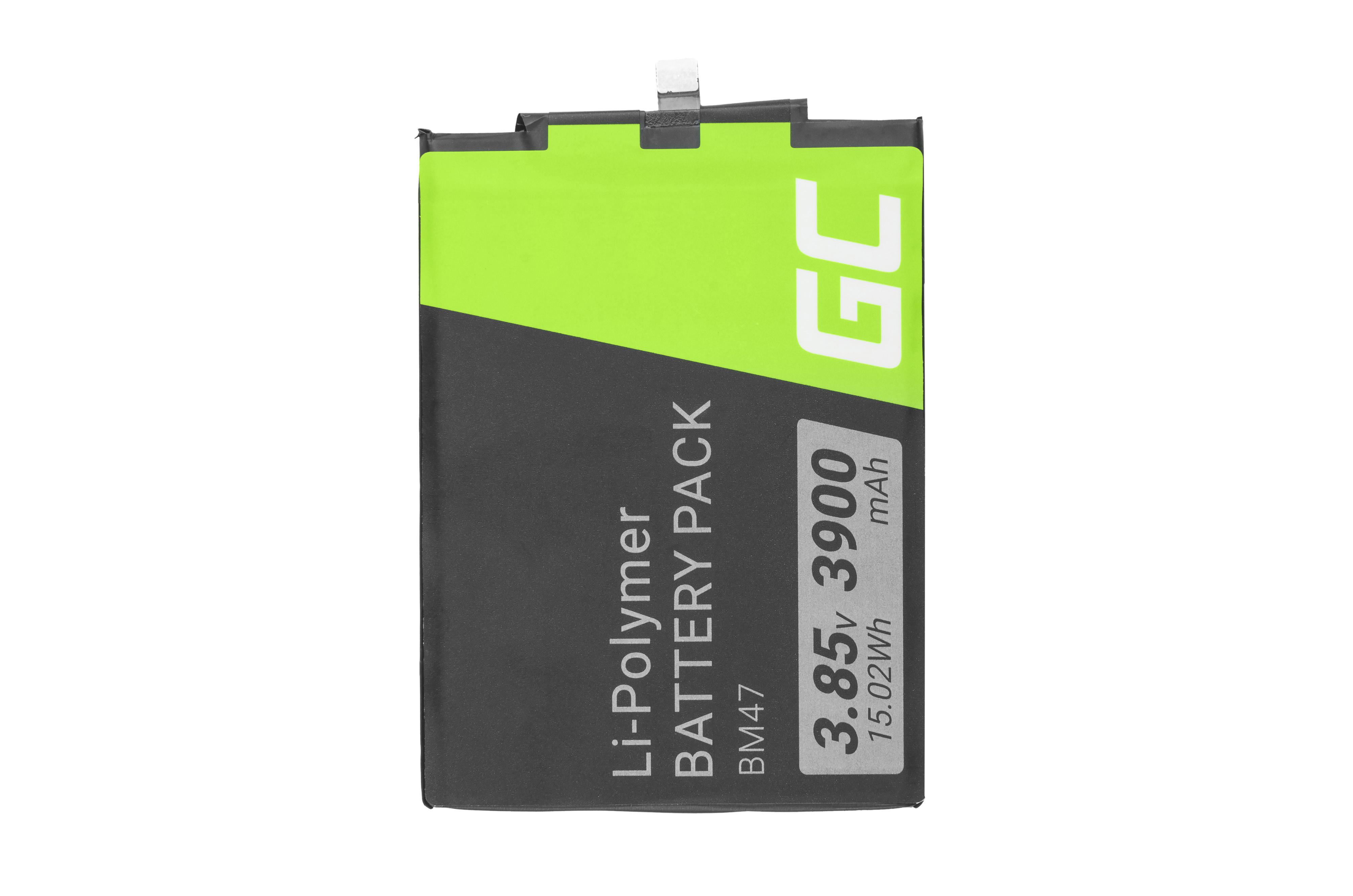 Baterie Green Cell Baterie Xiaomi Redmi 3 3S 3X 4X BM47 3.85V 3900mAh Li-ion - neoriginální