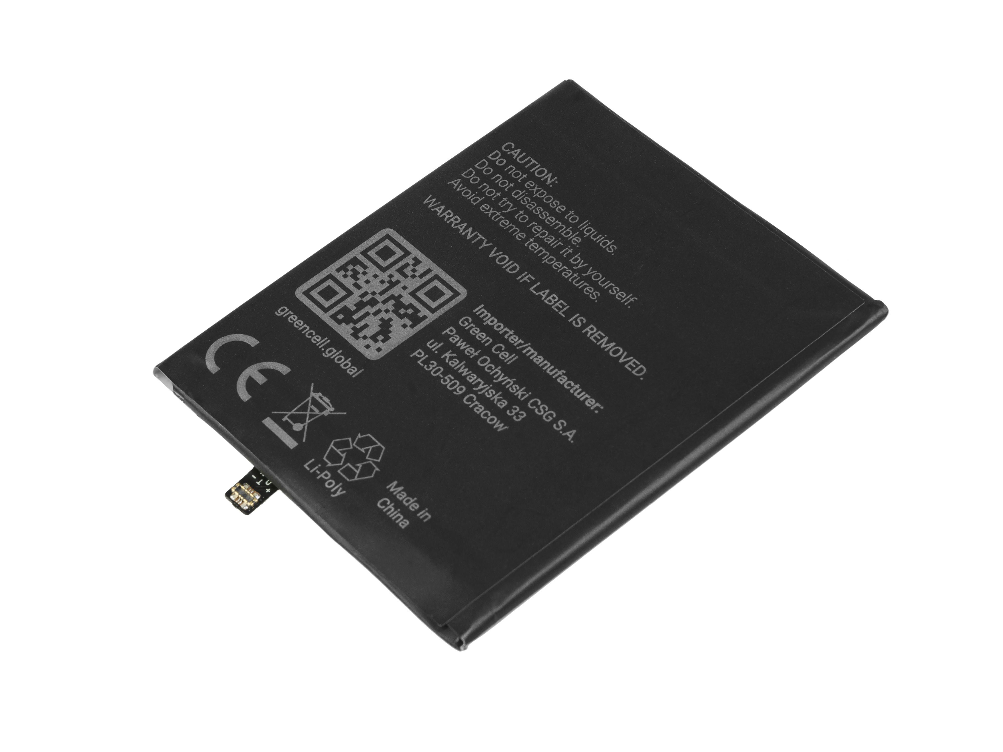 Baterie Green Cell Xiaomi BN35 Xiaomi Redmi 5 3200mAh Li-Pol – neoriginální