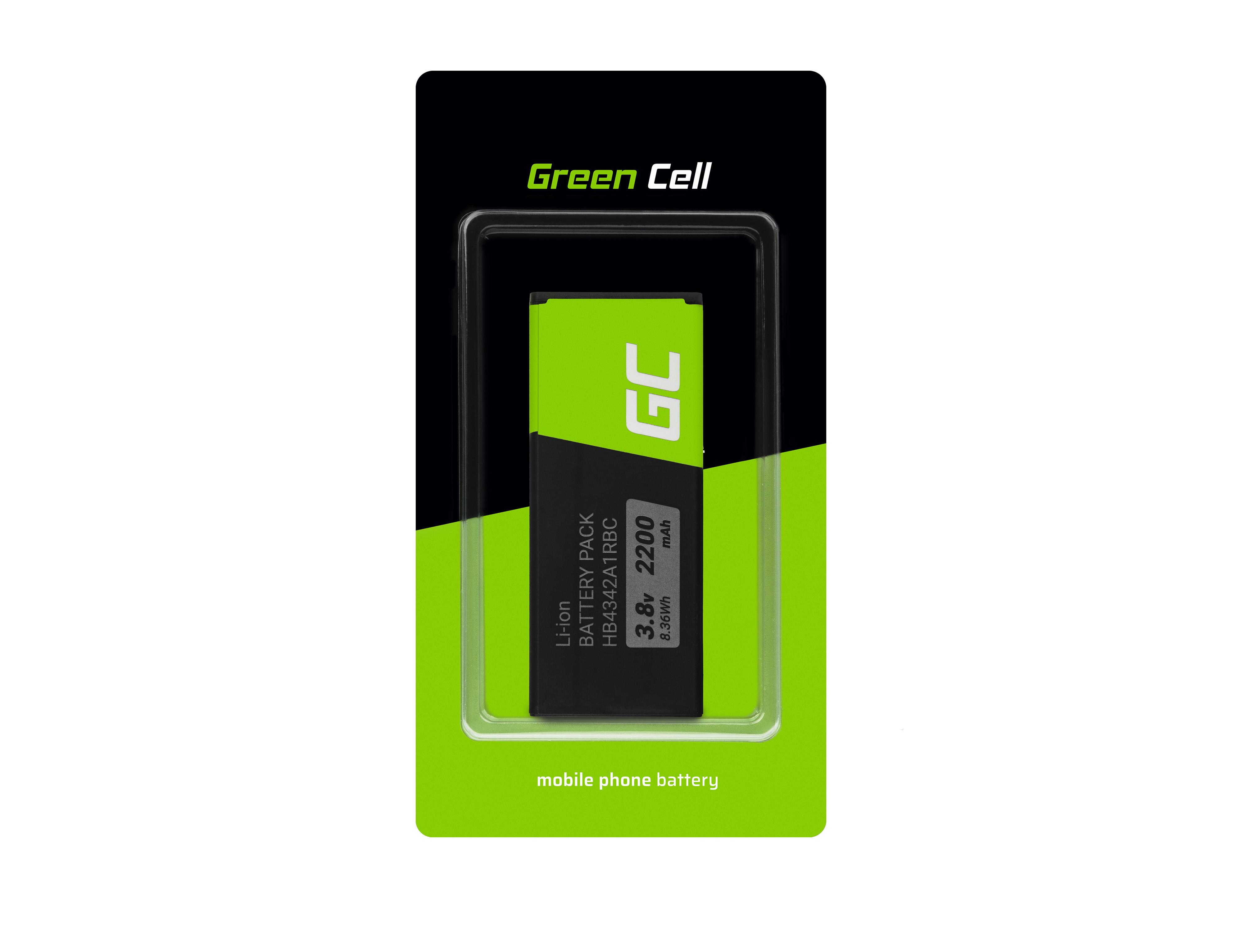 Baterie Green Cell Huawei HB4342A1RBC Huawei Ascend Y5 II Y6 Honor 4A 5 2580mAh Li-Pol – neoriginální