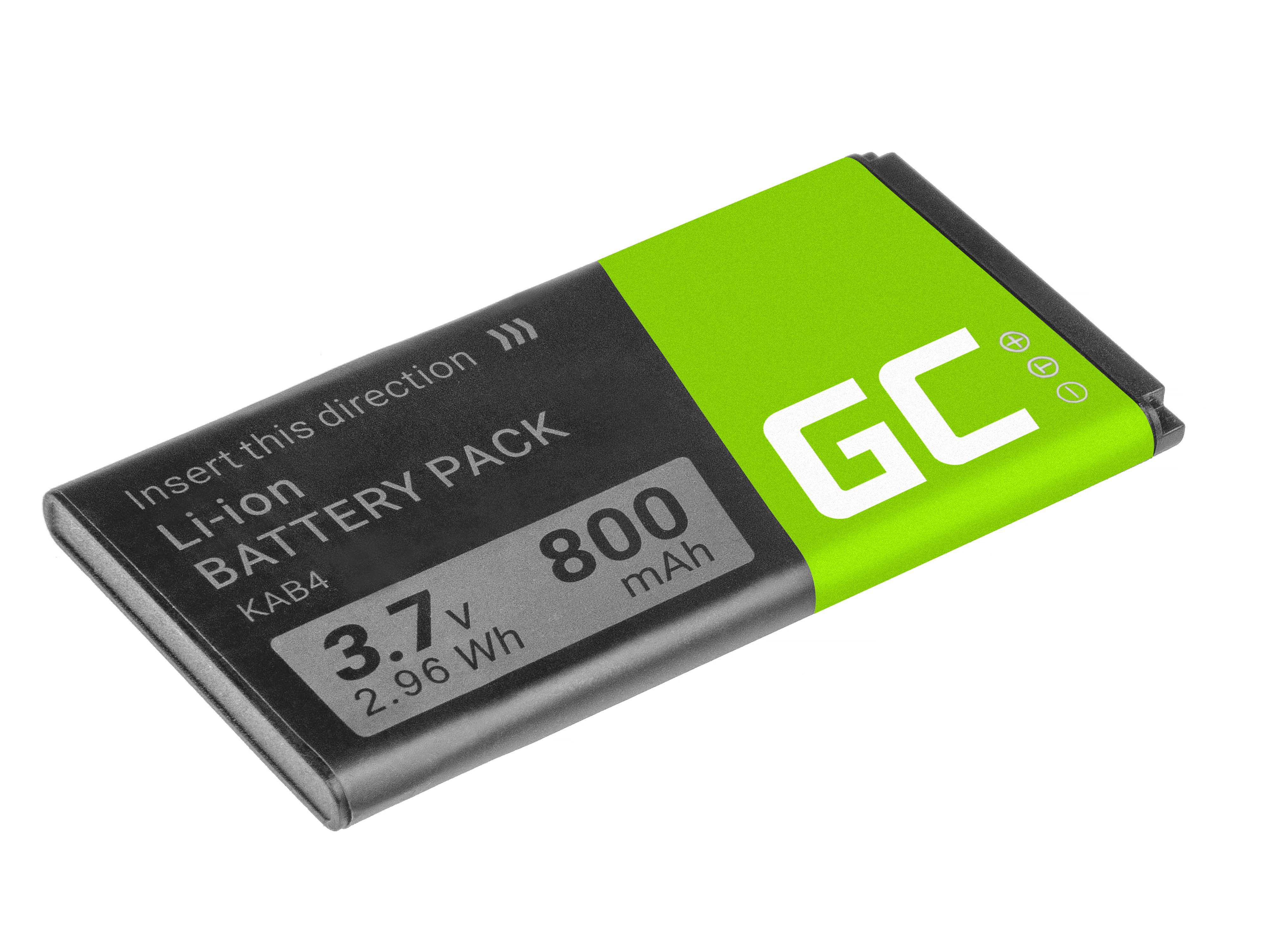 Baterie Green Cell KAB4 Kazam Life B4 Maxcom MM720 1050mAh Li-ion - neoriginální