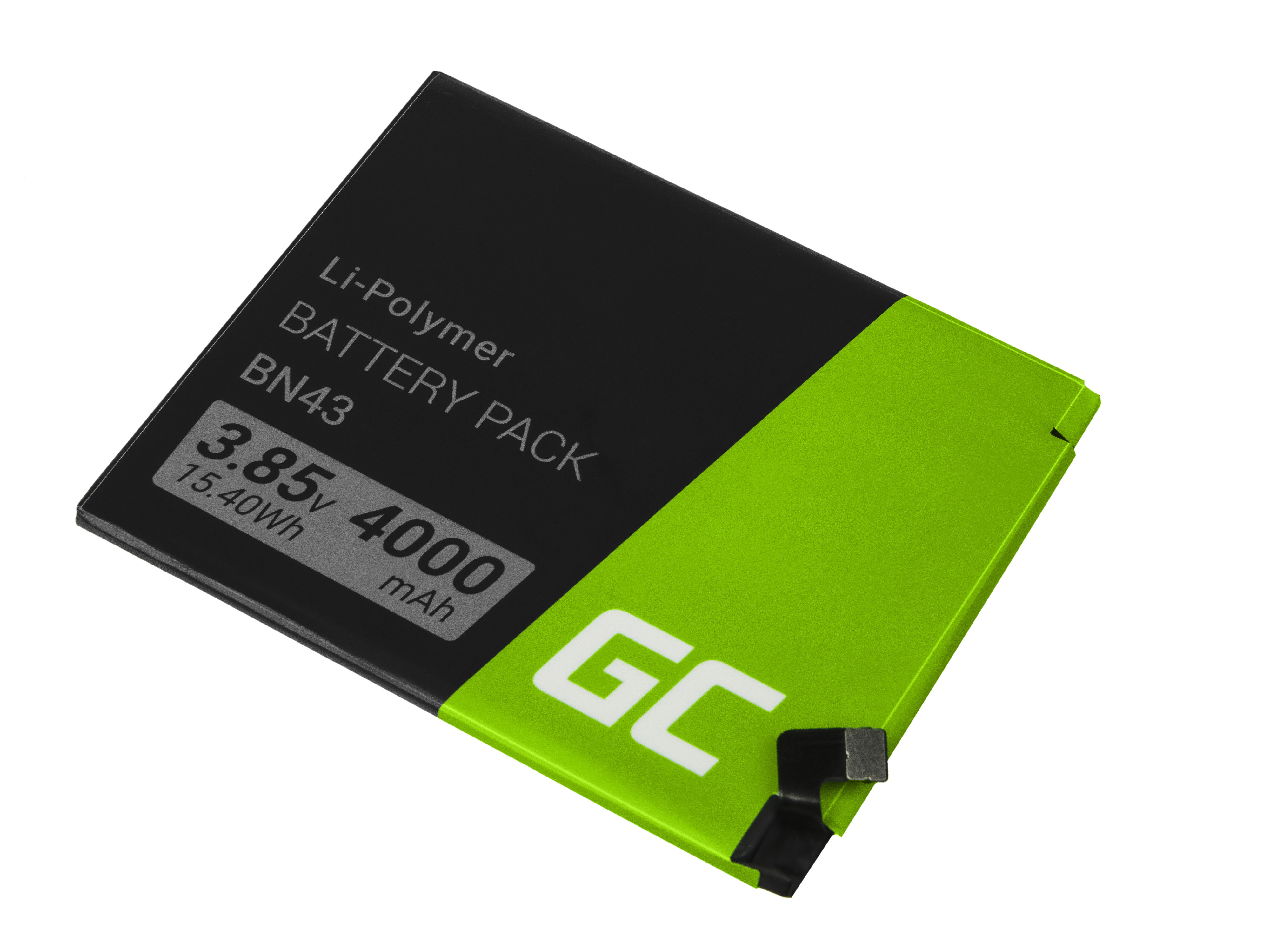 Baterie Green Cell Xiaomi BN43 Xiaomi Redmi Note 4X 4000mAh Li-Pol – neoriginální