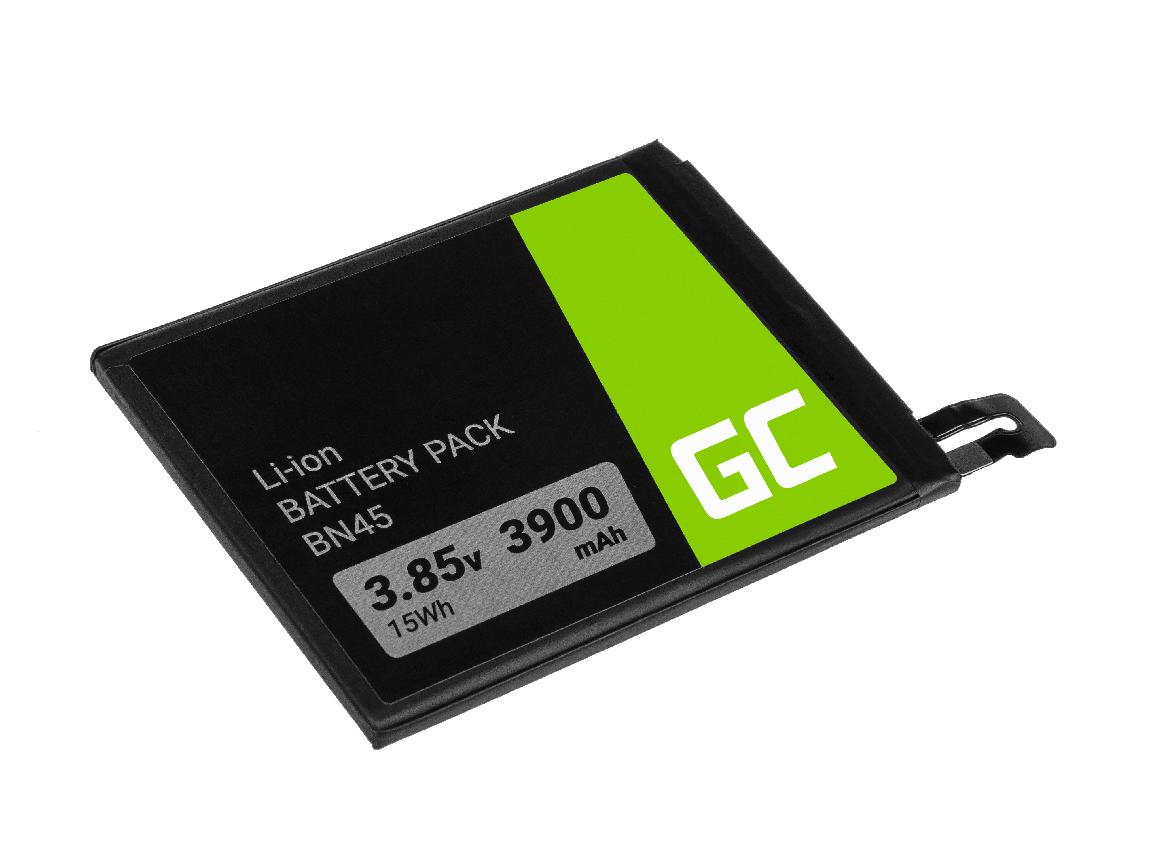 Baterie Green Cell Xiaomi BN44 Xiaomi Redmi Note 5 / 5 Plus 3900mAh Li-Pol – neoriginální