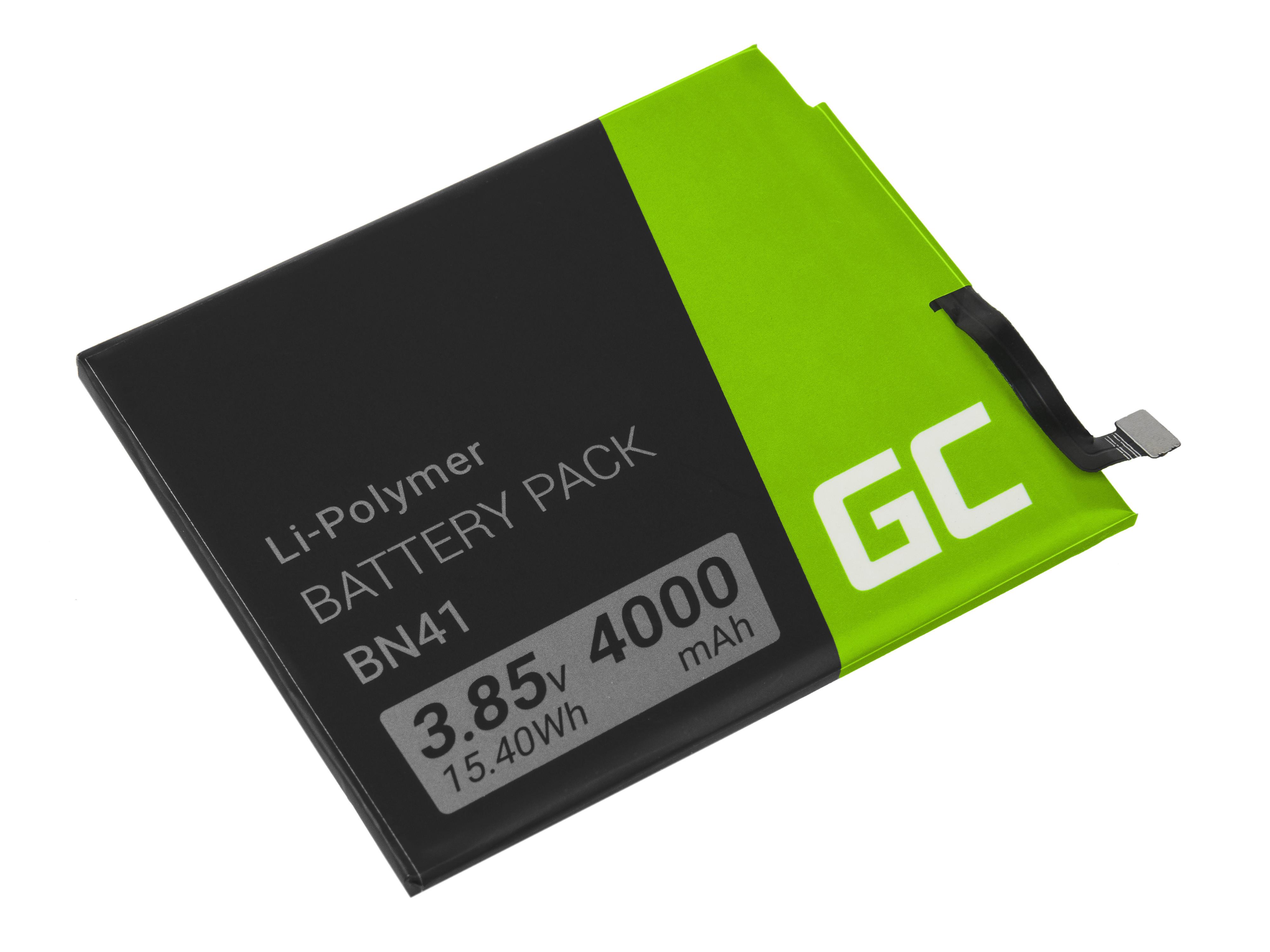 Baterie Green Cell Xiaomi BN41 Xiaomi Redmi Note 4 4000mAh Li-Pol – neoriginální