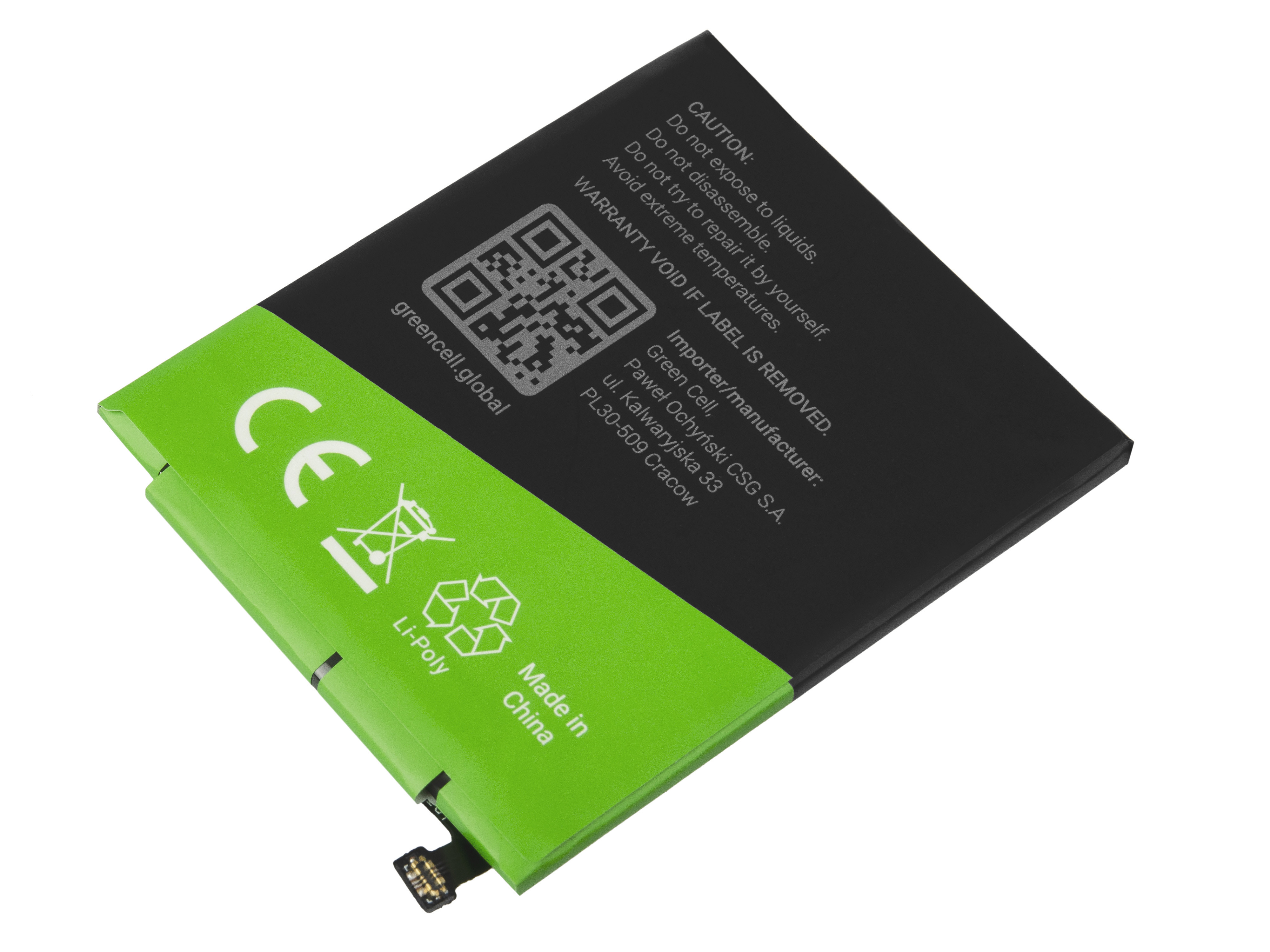 Green Cell Smartphone Battery BN41 for Xiaomi Redmi Note 4