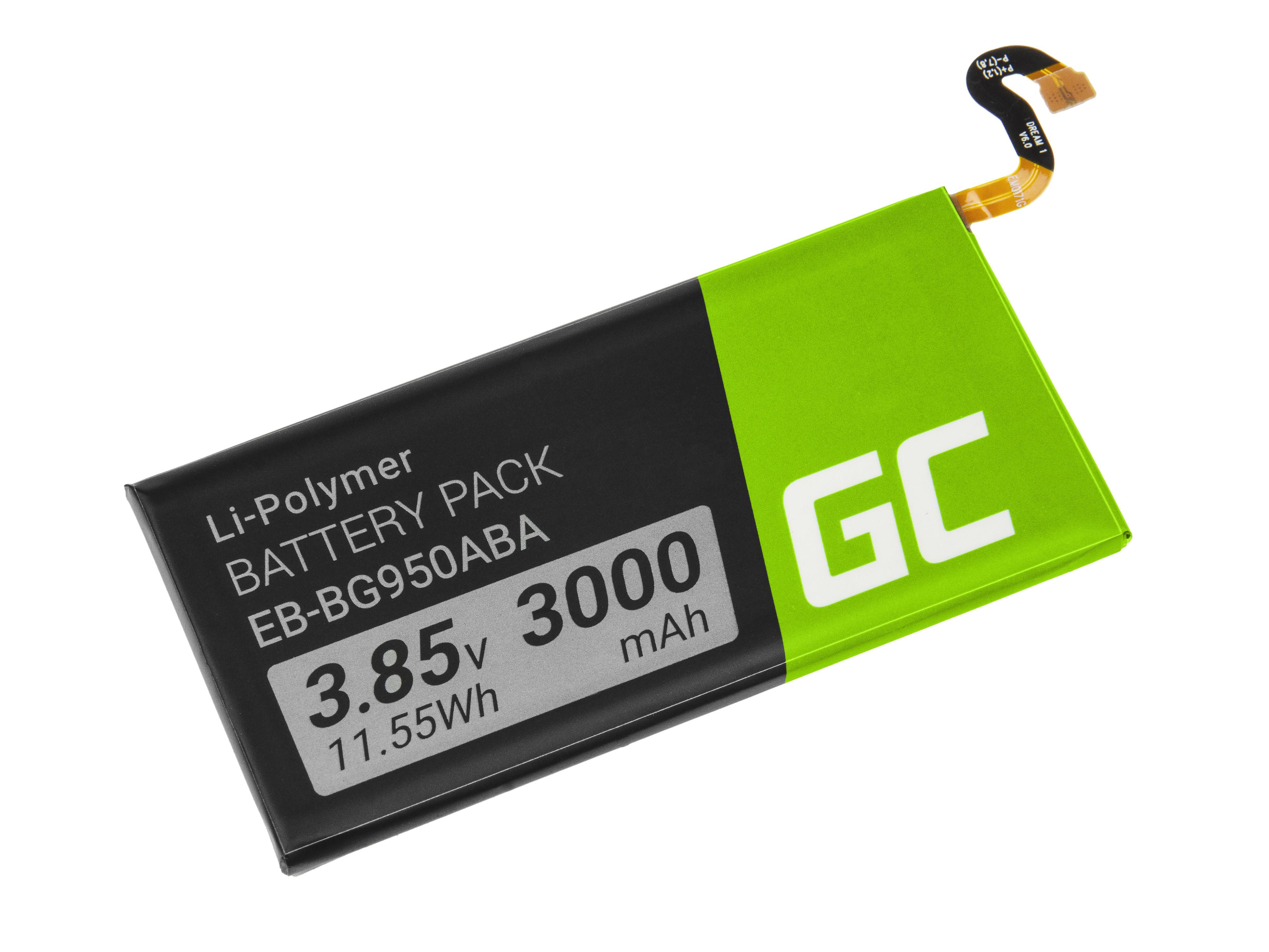 Green Cell Smartphone Battery EB-BG950ABA Samsung Galaxy S8 G950F