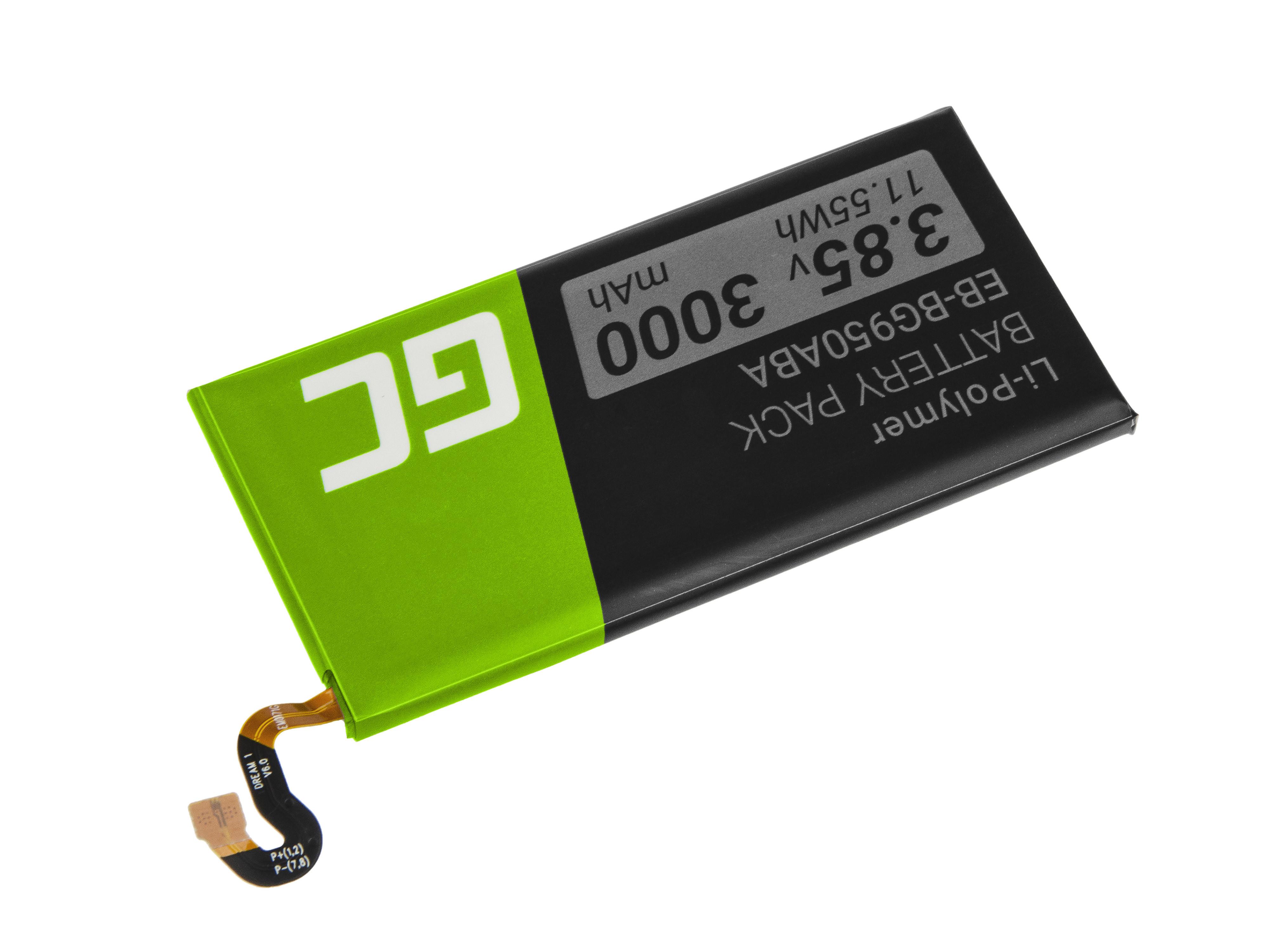 Baterie Green Cell Samsung EB-BG950ABA Samsung Galaxy S8 G950F 3000mAh Li-Pol – neoriginální