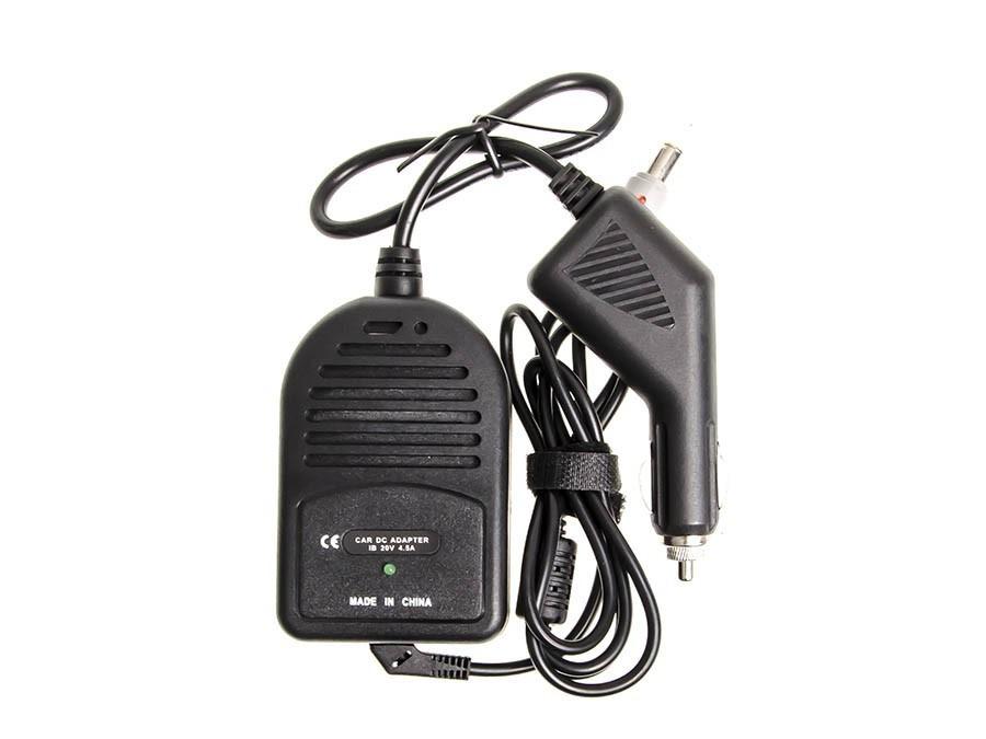 Green Cell CAD01 Adaptér Nabíječka do auta pro Lenovo T60p T61 T61p X60 Z60t Z61e Z61m SL500c SL510 T400 3000 C100 C200 20V 4.5A