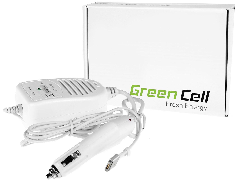 "Green Cell CAD29 Adaptér Nabíječka do auta pro Apple MacBook Pro Retina 15"" Magsafe 2 85W"