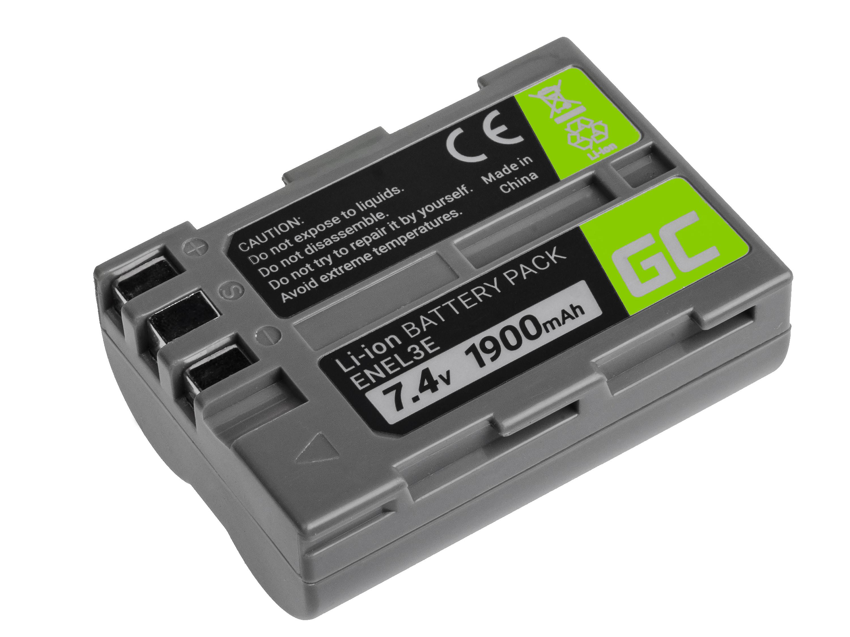 Green Cell Baterie pro Nikon D-SLR D50 D70 D80 D90 D100 D200 D300 D700 D900 7.4V