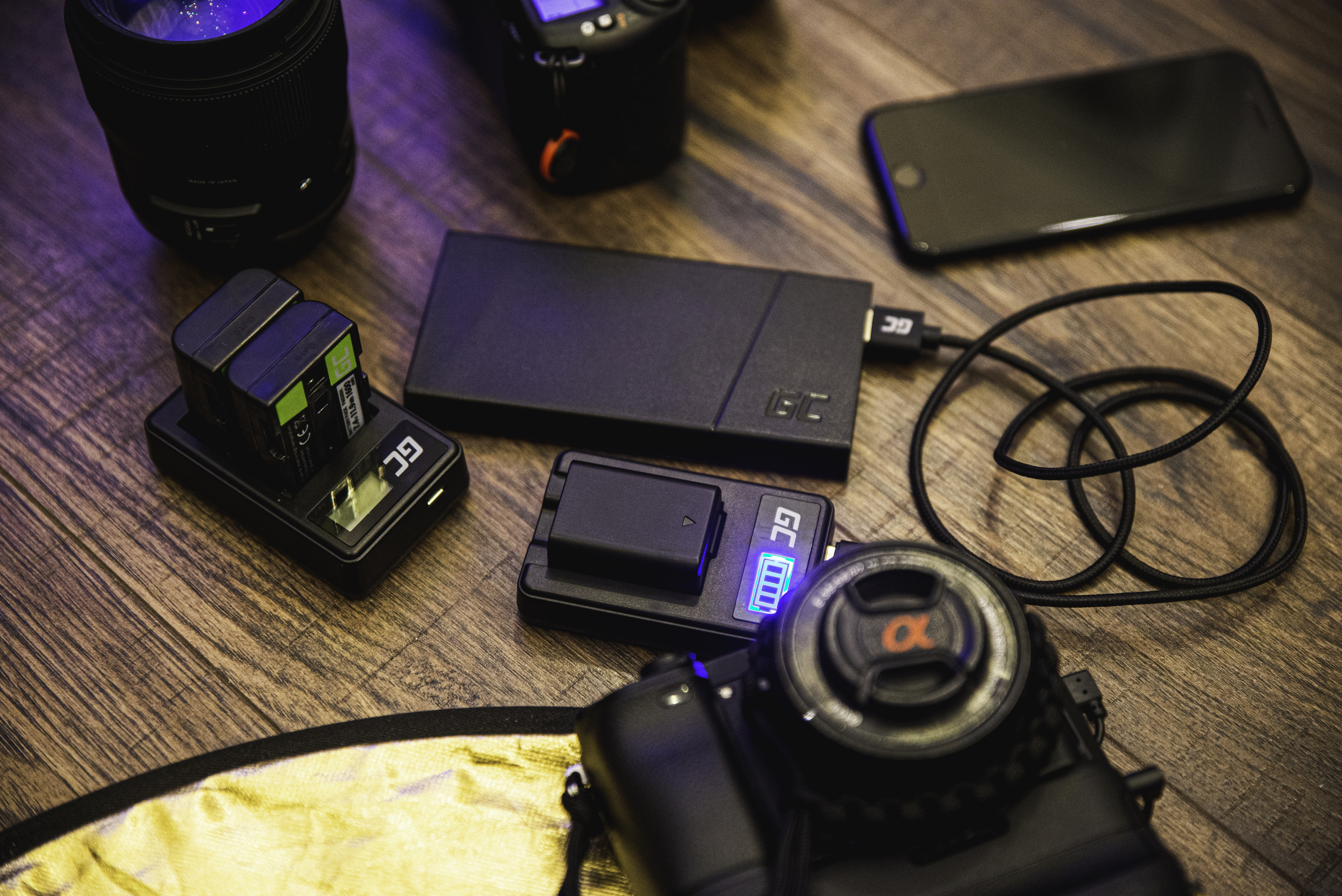 Baterie Green Cell Sony DSC H10 H20 H50 HX5 HX10 T50 W50 W70 3.7V 1100mAh Li-ion - neoriginální