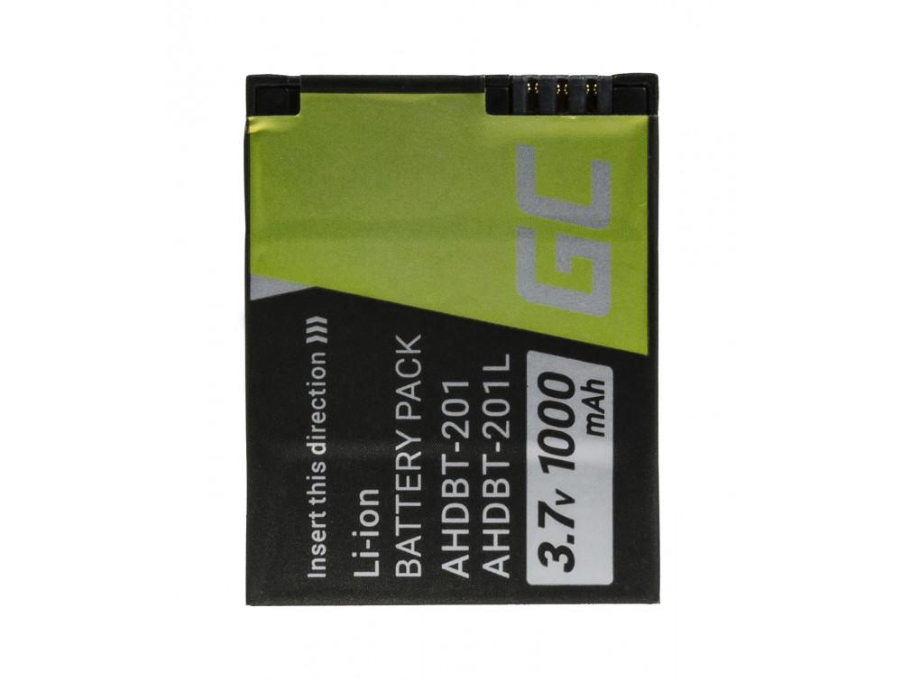 Green Cell kamera akkumulátor GoPro HD Hero 3 AHDBT-201 AHDBT-301