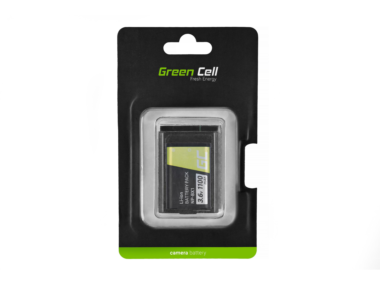 Baterie Green Cell SONY NP-BX1 1100mAh Li-ion - neoriginální