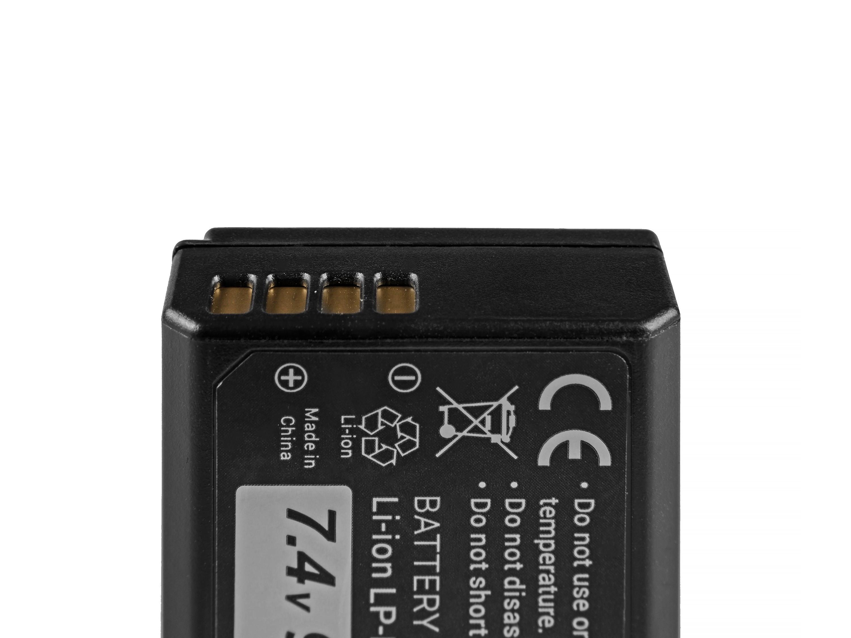 Green Cell Battery LP-E10 Canon EOS Rebel T3, T5, T6, Kiss X50, Kiss X70, EOS 1100D, EOS 1200D, EOS 1300D 7.4V 950mAh