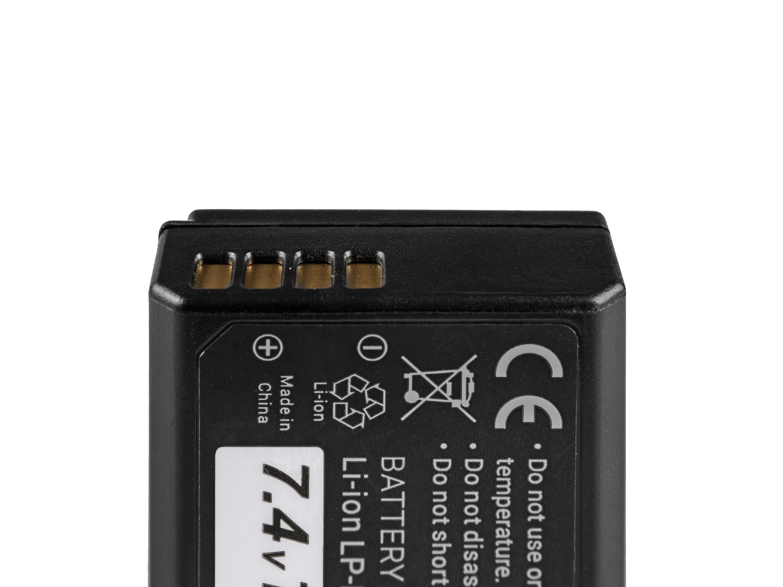 Baterie Green Cell Canon LP-E10 Canon EOS Rebel T3, T5, T6, Kiss X50, Kiss X70, EOS 1100D, 1200D, 1300D 1100mAh Li-ion - neoriginální