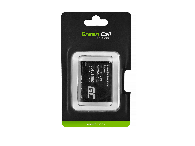 Green Cell Baterie DMW-BLC12 Panasonic FZ2000, G81, FZ1000, FZ300, G6M, GX8M, G70M, G70KA, GX8EG-K, GX8, G70 7.4V 1000mAh